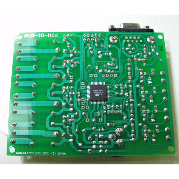 Relay Development Board for ATMega16