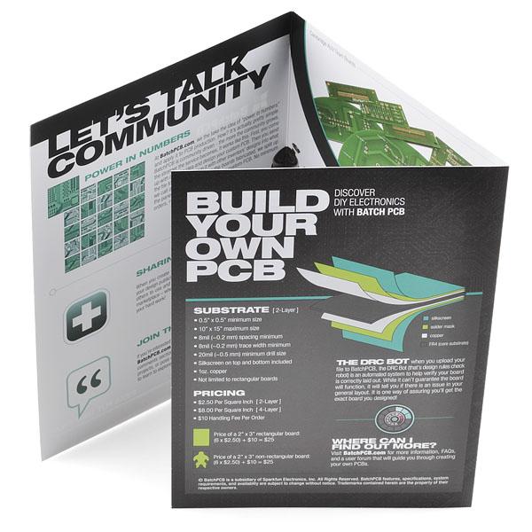 BatchPCB Tri-Fold Brochure