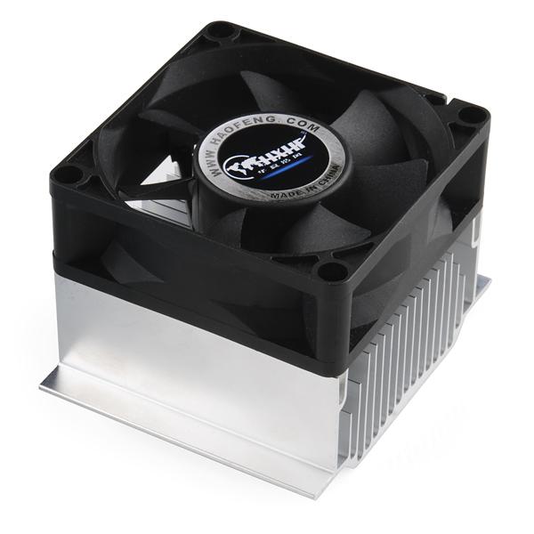 Heatsink and Fan - 70mm