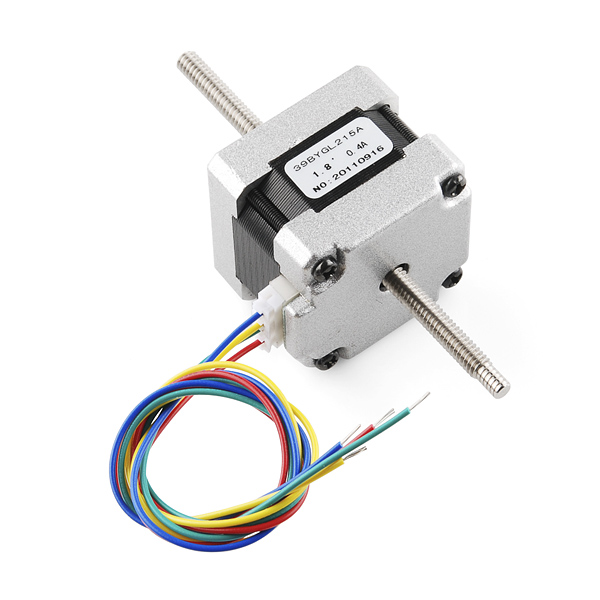 Pleasing Stepper Motor 29 Oz In 200 Steps Rev Threaded Shaft Rob 10848 Wiring 101 Capemaxxcnl