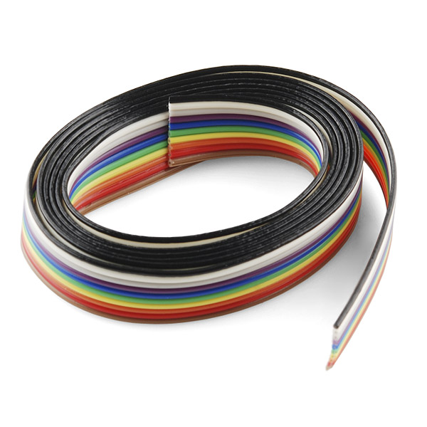 Magnificent 4 Wire Ribbon Cable Contemporary - Electrical Circuit ...