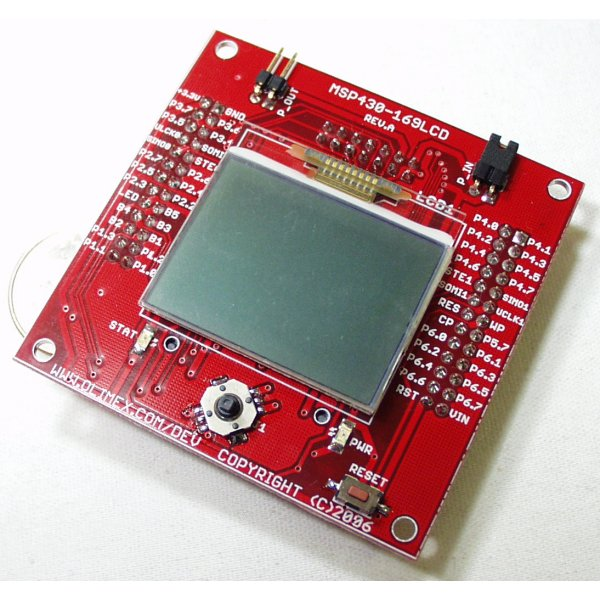LCD Development Board for MSP430F169