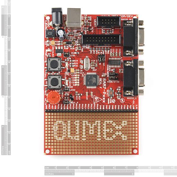 Development Board Atmel SAM7-256
