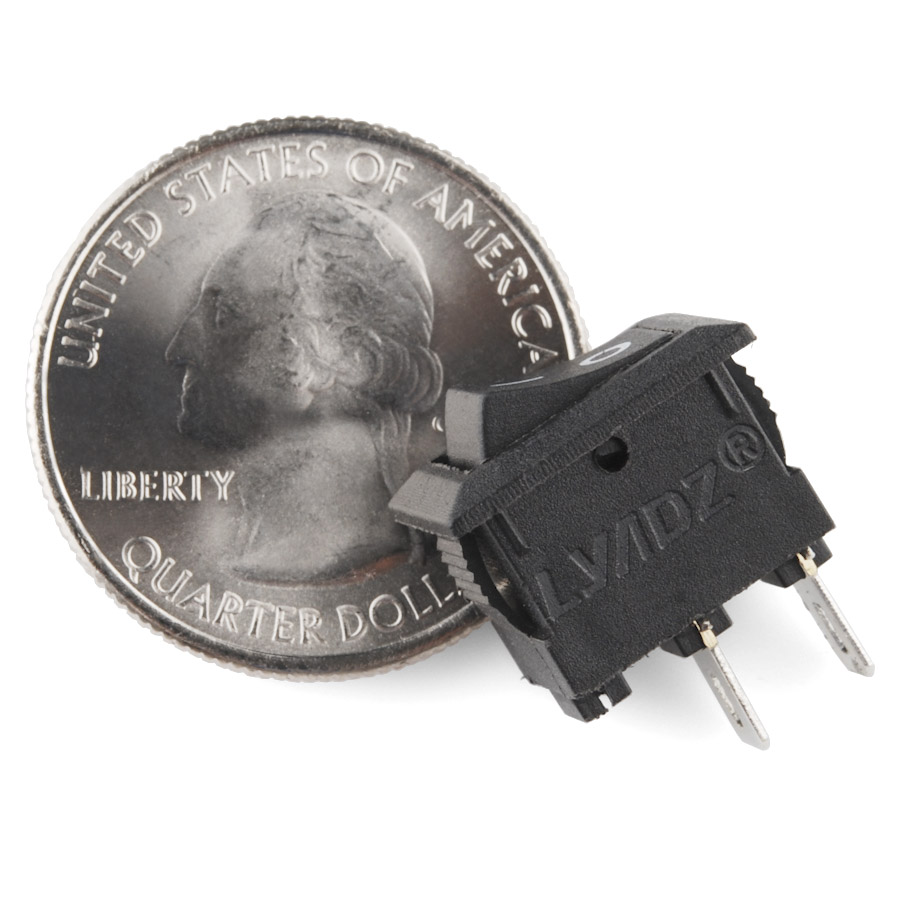 Rocker Switch - Medium - COM-10727 - SparkFun Electronics