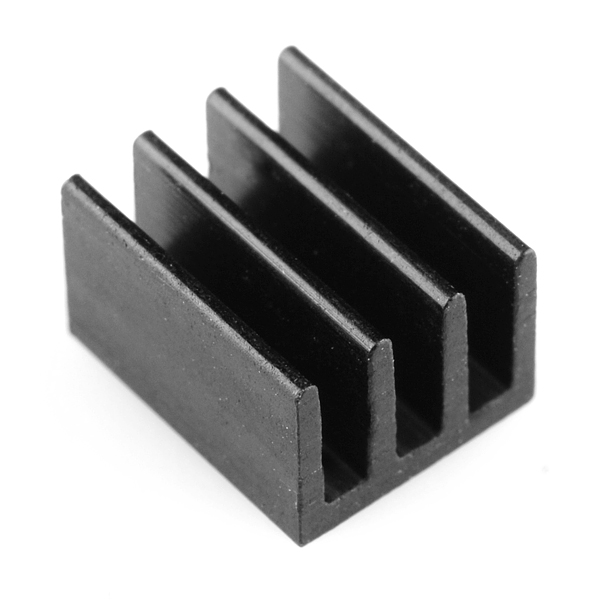 Small Heatsink with Thermal Tape (pack of 5)