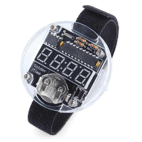 Solder : Time Watch Kit