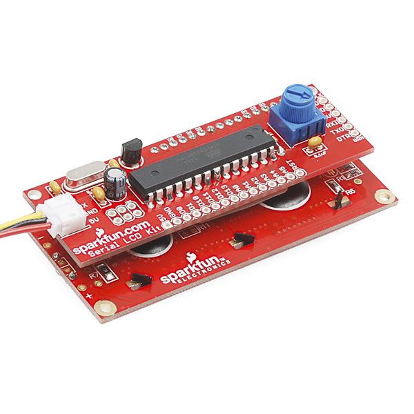Serial LCD Kit - Retail