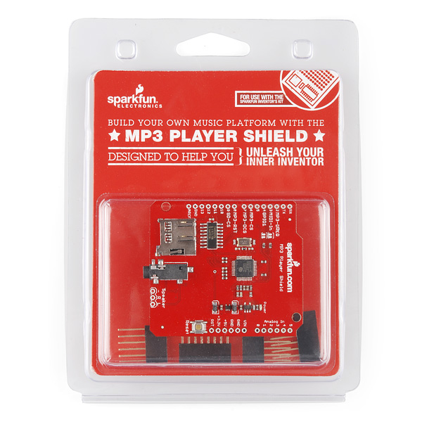MP3 Player Shield - Retail