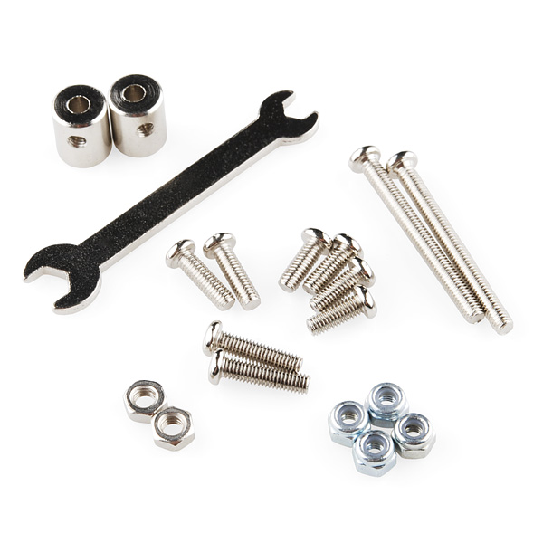 Robotic Claw Pan/Tilt Bracket
