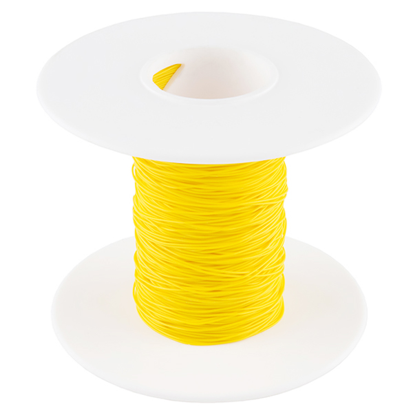 Wire Wrap Wire - Yellow (30 AWG)