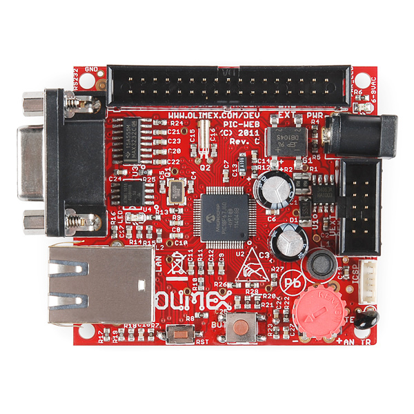 Ethernet Web PIC Development Board