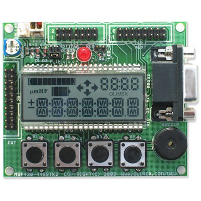 Evaluation Board for MSP430F449