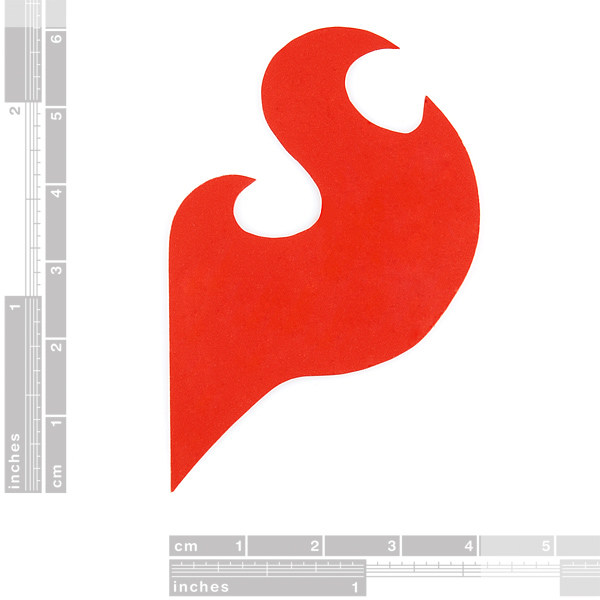 Flame Decal - Small
