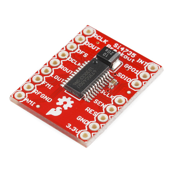 Si4735 FM/AM Radio Receiver Breakout - WRL-10906 - SparkFun