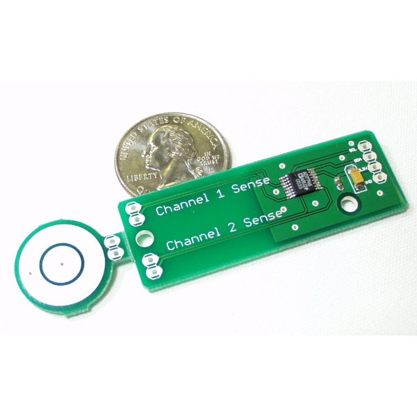 Capacitive Sensor Board - AD7746 Breakout