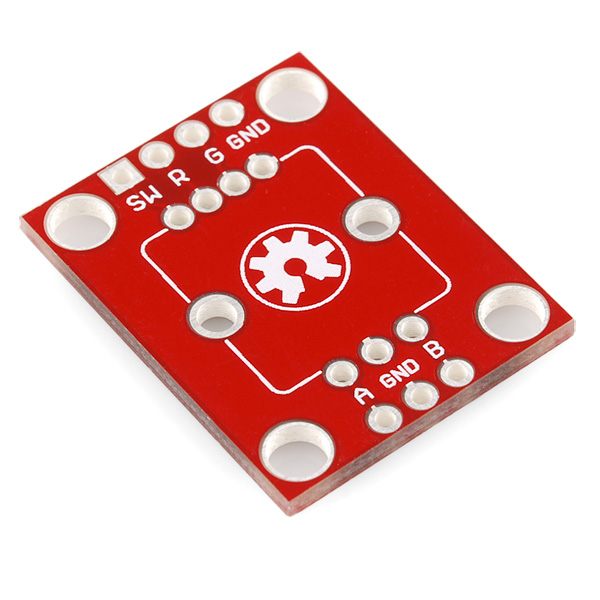 Rotary Encoder Breakout - Illuminated (Red/Green)