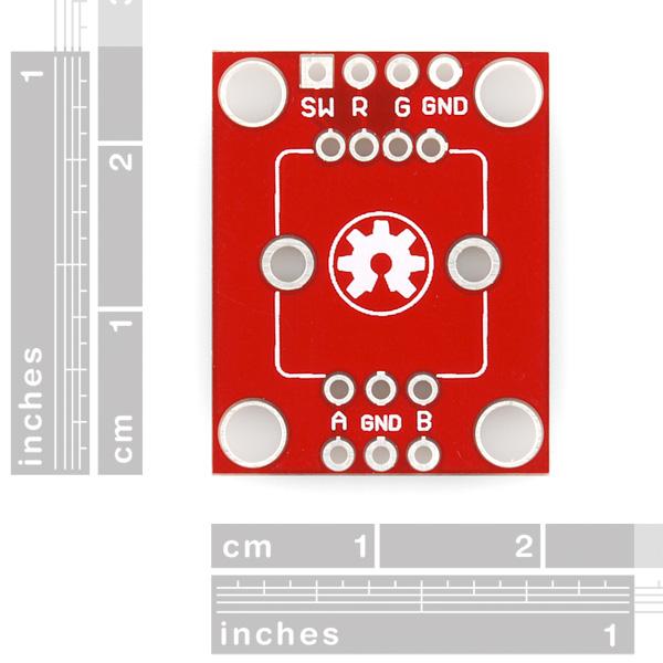 Rotary Encoder Breakout - Illuminated (Red/Green)