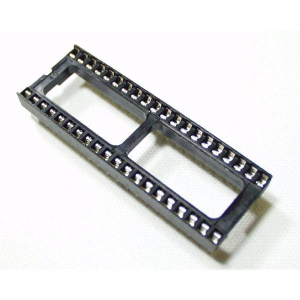 "DIP Sockets Solder Tail - 40-Pin 0.6"""