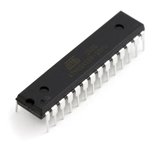 AVR 28 Pin 20MHz 16K 6A/D - ATMega168
