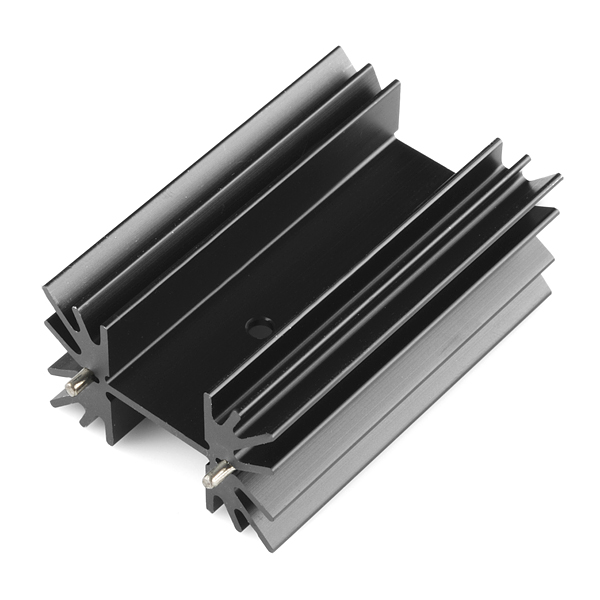Heat Sink - Multiwatt Package - Ding and Dent