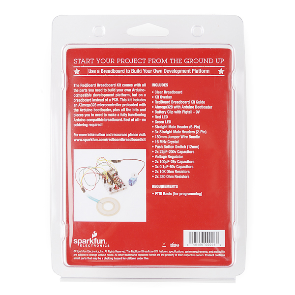 SparkFun RedBoard - BreadBoard Kit Retail
