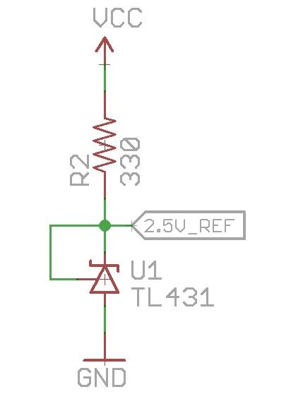 Negative Voltage Reference Tl431 Voltage Reference