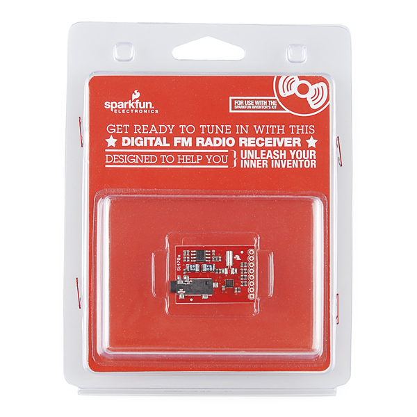 Digital FM Radio Receiver Retail