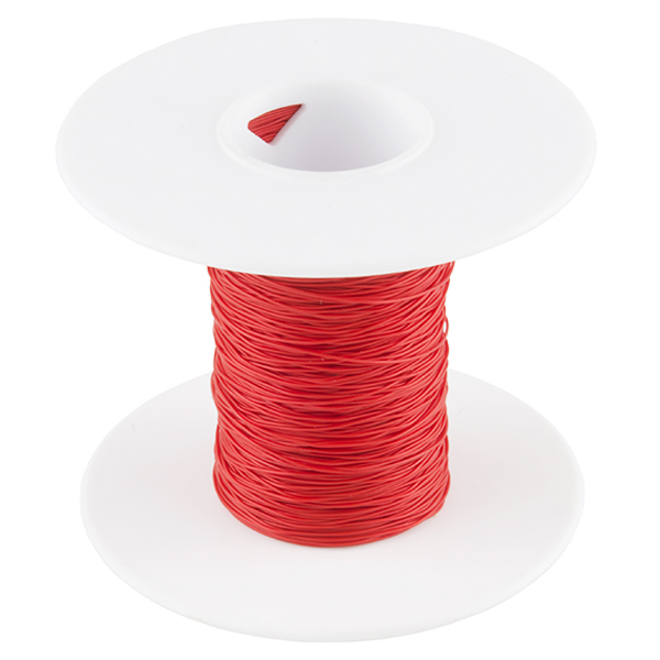 Wire Wrap Wire - Red (30 AWG)