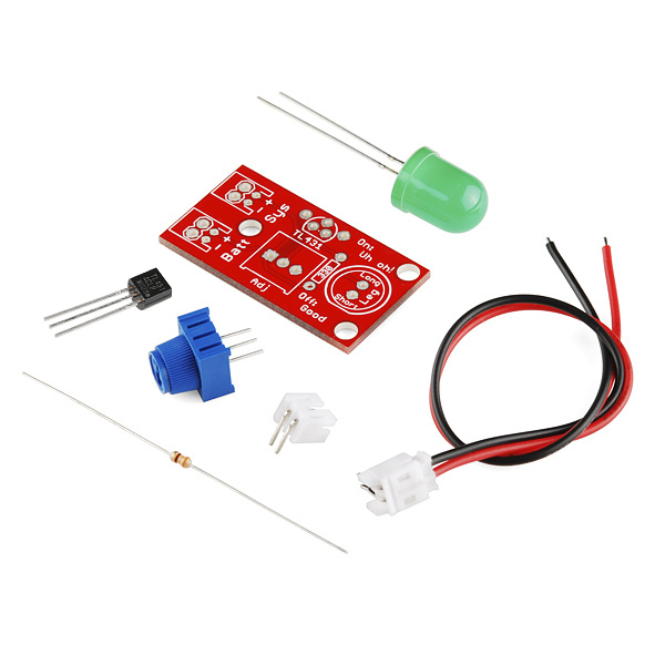 "SparkFun ""Uh-oh"" Battery Level Indicator Kit"