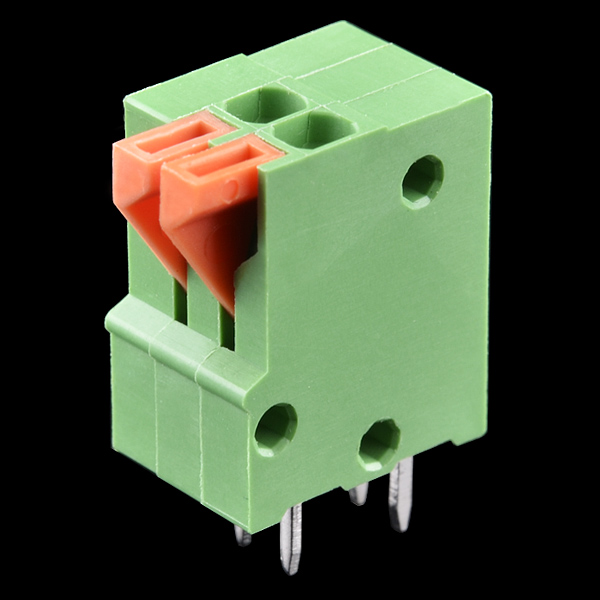 Spring Terminals - PCB Mount (2-Pin)