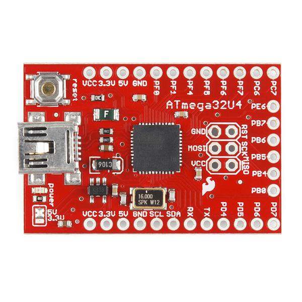 SparkFun ATMEGA32U4 Breakout - DEV-11117 - SparkFun Electronics