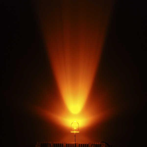 Super Bright LED - Yellow 10mm