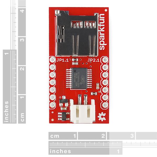 SparkFun Audio-Sound Breakout - WTV020SD