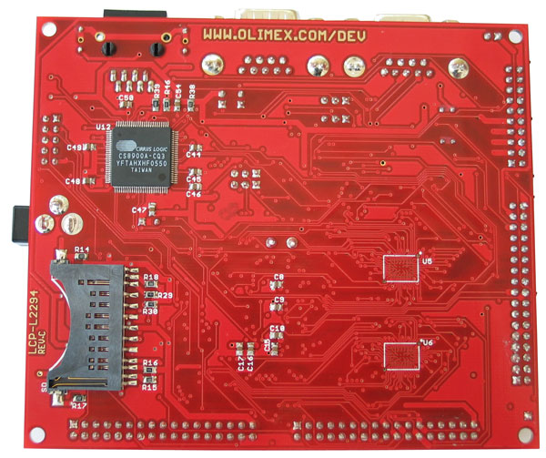 Prototyping Board for LPC2294 (1MB)