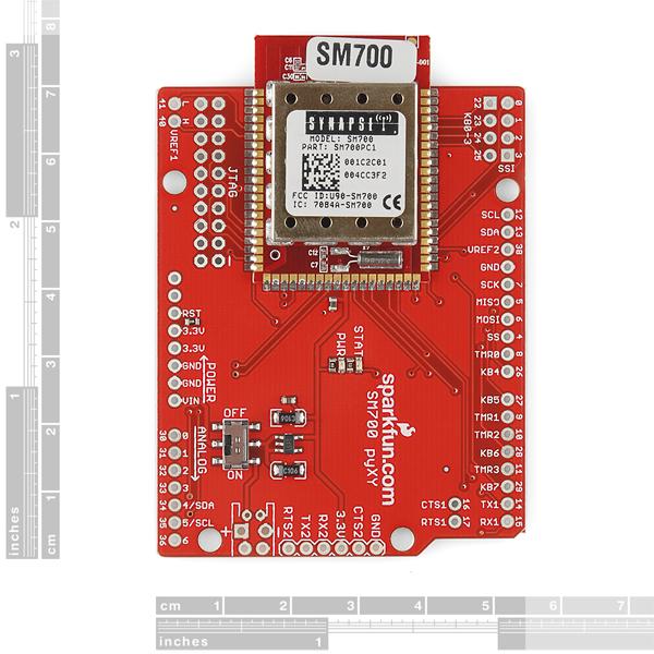 pyXY - Synapse SM700 Dev Board