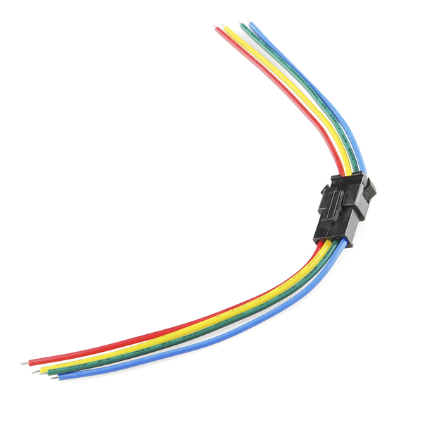 RGB LED Strip - Pigtail Connector (pair)