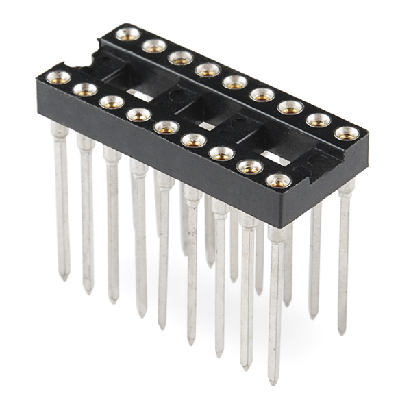 Wire Wrap Sockets (18-pin)