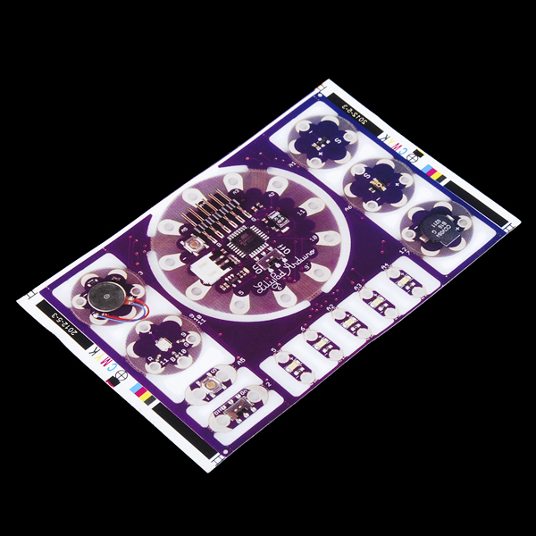 LilyPad Prototyping Stickers - Development Board