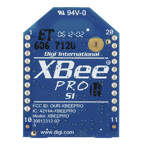 XBee Pro 60mW PCB Antenna - Series 1 (802.15.4)