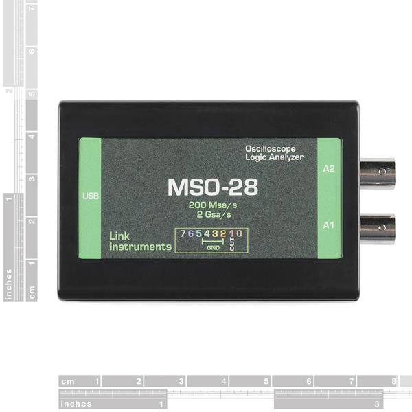 USB Oscilloscope - MSO-28