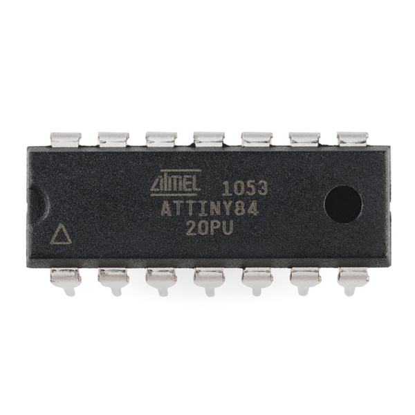 AVR 14 Pin 20MHz 8K 12A/D - ATtiny84