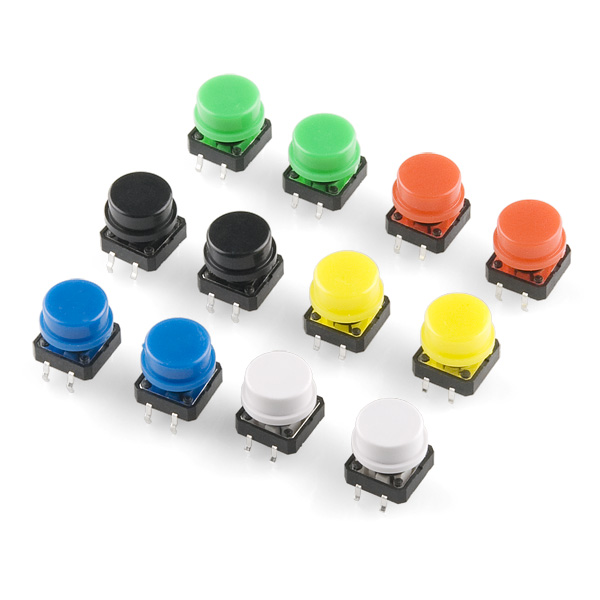 Tactile Button Assortment Retail