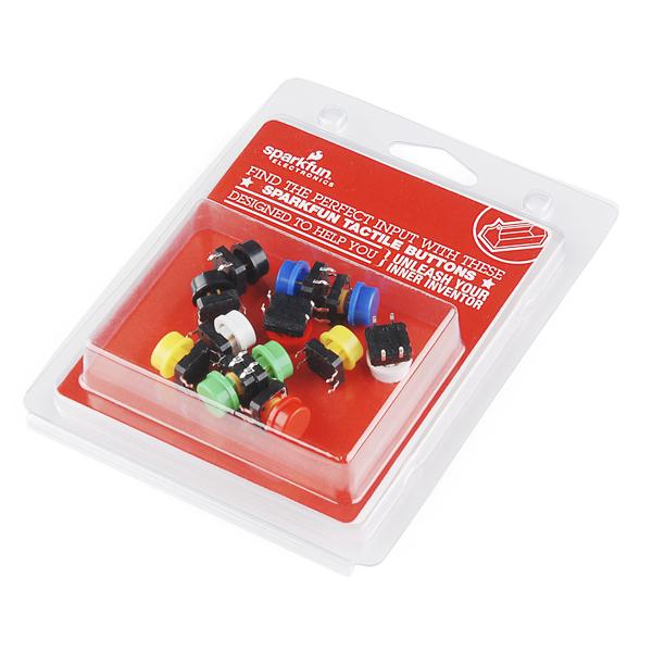 Tactile Button Assortment Retail