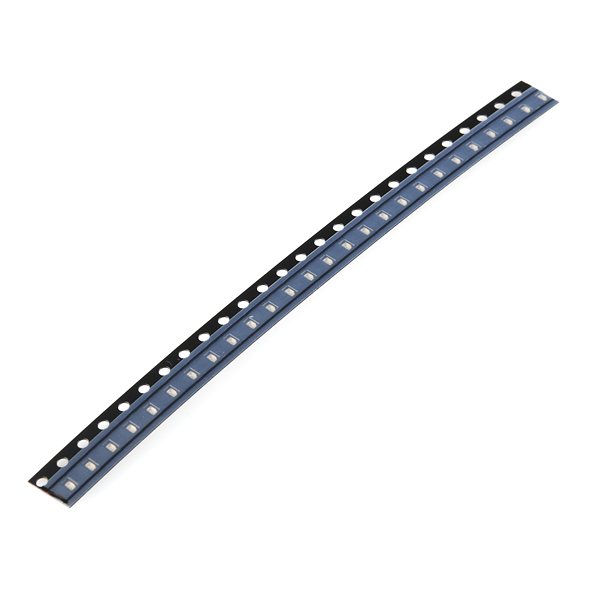 SMD LED - Green 0603 (strip of 25)