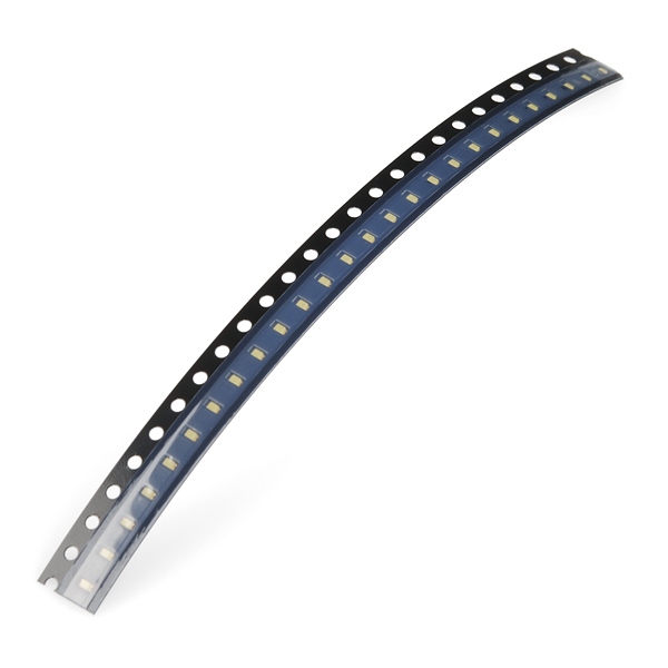 SMD LED - White 0603 (strip of 25)