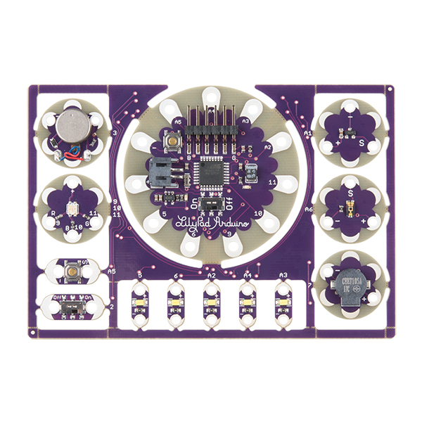 LilyPad ProtoSnap Development Board