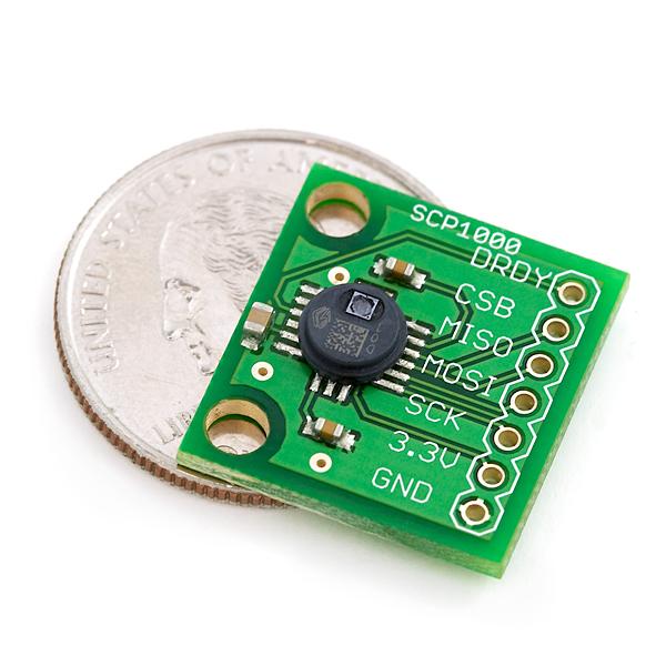 MEMs Barometric Pressure Sensor - SCP1000 Breakout