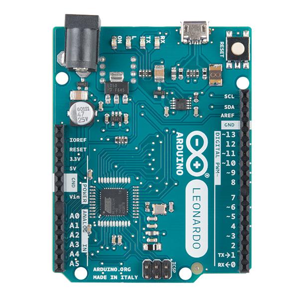 Arduino Leonardo with Headers