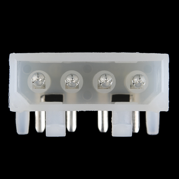 4 Pin Molex Connector - Right Angle
