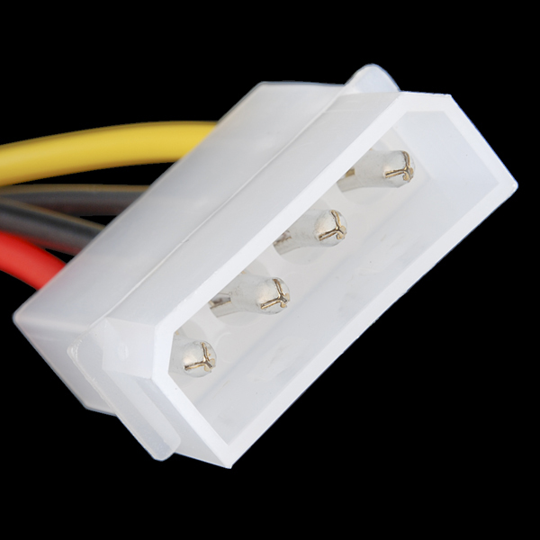 4 Pin Molex Connector - Pigtail